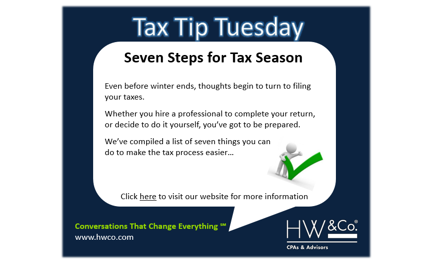 Tax tip tuesday 21318 hwco cpas advisors assemble tax documents undoubtedly you have been inundated with numerous tax forms for the 2017 tax year including w 2 forms and 1099s solutioingenieria Image collections